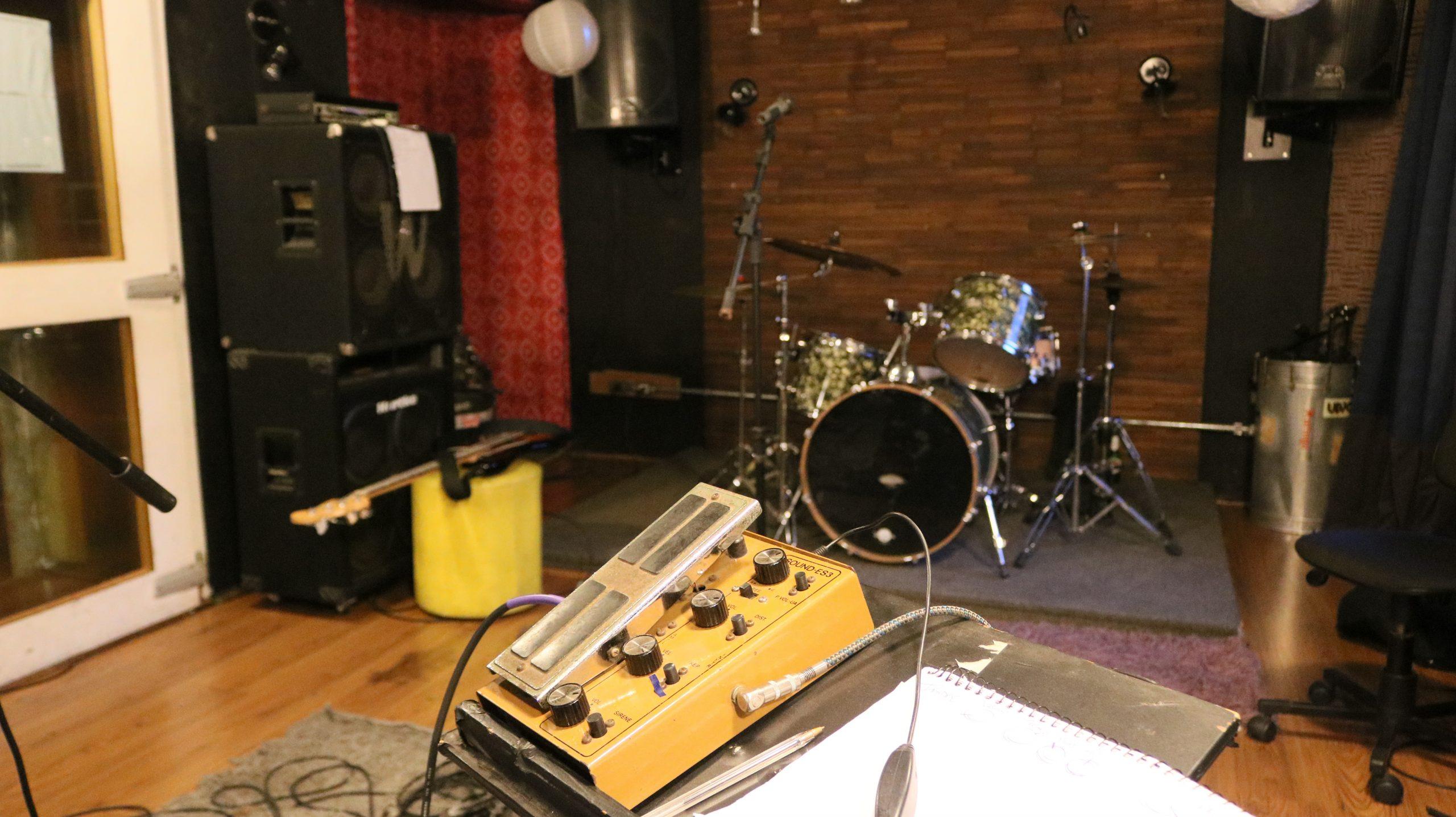 pedal+drums